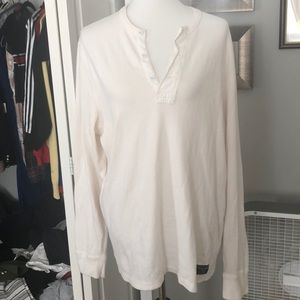Abercrombie & Fitch Oversized Long Sleeve Thermal